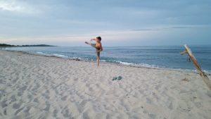 Eddi an der Ostsee