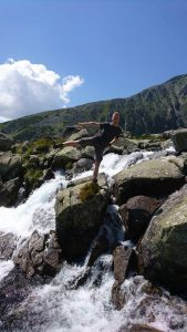 Alwin in der Hohen Tatra