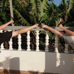 Kilian & Alwin auf Madeira